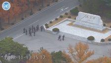 Kuzey Kore'den Güney Kore'ye Kaçan Askerin Vurulması