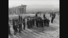 Menderes ve Köprülü Atina Ziyareti 1952