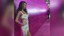 Tülin Şahin Victoria's Secret Defilesinde Pembe Halı'da Yürüdü