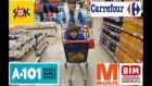 Kefir Challenge İçin Alışveriş Yaptık A-101, Şok, Bim, Carrefour, Migros Gezdik