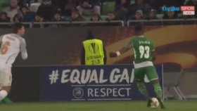 Ludogorets Razgrad 1-2 Medipol Başakşehir (Maç Özeti - 23 Kasım 2017)
