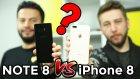 Çılgın Telefon Değişimi Bitti - Note 8 Ve İphone 8 Plus Deneyimi!