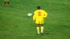 Galatasaraylı Norman Mapeza'nın Barcelona Maçındaki İlginç Frikiği!