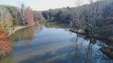 Atatürk Arboretumu'nda Sonbahar Manzaraları Drone İle Görüntülendi