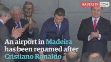 Son Büstüyle Dalga Konusu Olan Ronaldo'ya, Yeni Büst Yaptılar