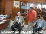 İbrahim bodur çan belediye başkanını tebrik etti