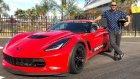 Chevrolet Corvette Z06 Supercharger Ile Yarıs Pistinde Asfaltı Ağlattım
