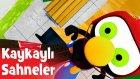 Limon ile Zeytin - Zeytin'in Eğlence Dolu Kaykaylı Sahneleri | Çizgi Film