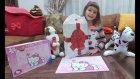 Elif Hello Kitty Puzzle Açıyor. Şirin Tavşan ve Benekli Köpekcikte Burada