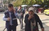 Yakalanan Dilencinin Hıncını Gazeteciden Çıkarması  Antalya