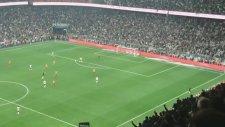 Beşiktaş 3-0 Galatasaray (Gol: Alvaro Negredo) Tribün Çekimi