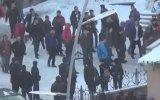 Erzurum'da Lise Öğrencilerinin Kavgası