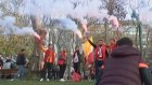Galatasaray Taraftarları Yola Çıktı