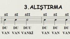 Sayfa 12 de 3.Alıştırma Nota Okuma Dersi Solfej Blok Flüt Piyano Keman Gitar Müziği Sevdirme Yolları