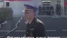Binbaşı Yemin Töreninde Dua Şiirini Okudu