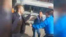 İETT Şoförü Tartıştığı Sürücü ile Kavga Etti