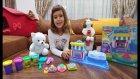 Play Doh Tatlı Pasta Cafe Dükkanı 4 Farklı Renk Oyun Hamuru İle Kek, Bisküvi Ve Pastalar