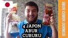 4 Farklı Japon Abur Cuburu Denedim | Abur Cubur Gurmesi