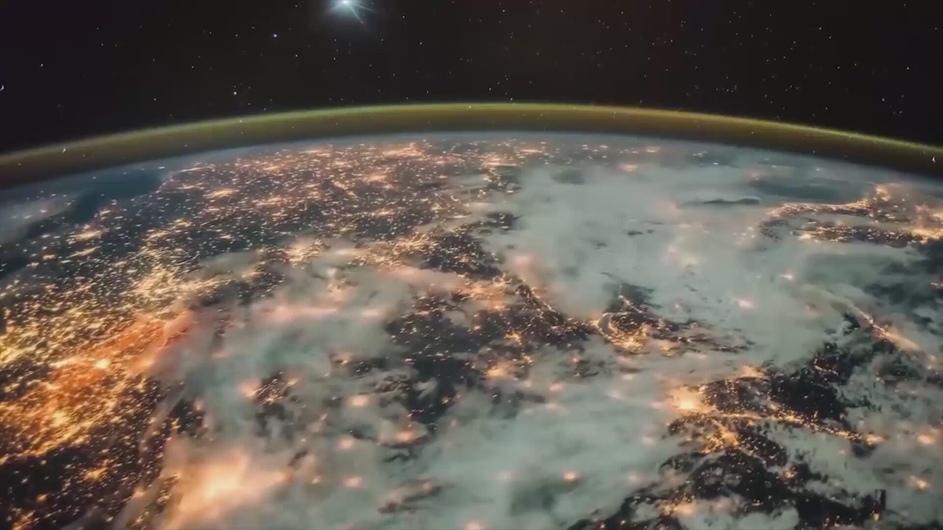 earth orbit video - HD1800×945
