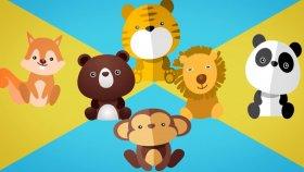 10 Küçük Aslancık - Çocuk Şarkıları