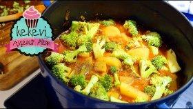 Brokoliyi Sevdirecek Kıymalı Patatesli Brokoli Yemeği | Ayşenur Altan Yemek Tarifleri