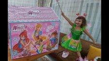 Elife Yeni  Winx Çadır. Winx Perileri Stella Bloom Flora Elif Hangi Kostümü Giydi.