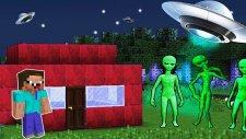 Noob Vs Uzaylı İstilası! - Minecraft