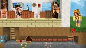 Arkadaşlarla Okuldan Kaçış (Minecraft)