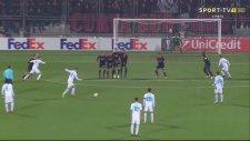 Jakov Puljic'in Milan'a attığı gol