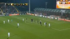 Rijeka 1-0 AC Milan Goal Jakov Puljic (07.12.2017)