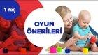 Bebek Gelişimi - 1 Yaş İçin Oyun Önerileri | İki Anne Bir Mutfak