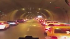 İzmirli Sürücülerin İtfaiyeye Fermuar Sistemi İle Yol Vermesi