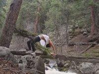 Ormanlık Alandaki Yoga Aşkının Derede Son Bulması