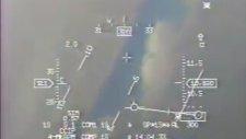 Türk Hava Kuvvetleri F-5n Ccıp - Ccrp Atışlar Konya - Karapınar (Başüstü Ekranı Görüş)