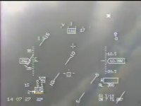 Türk Hava Kuvvetleri F-5N CCIP - CCRP Atışlar Konya - Karapınar (Başüstü Ekranı Görüş)