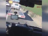 Ambulansa Yol Vermeyen Çekici Sürücüsü