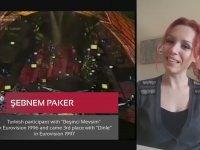 Şebnem Paker'den TRT'ye Eurovision Mesajı