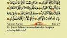 Kur'an-ı Kerim, Türkçe Yazı ile: Juza 27