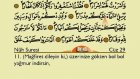 Kur'an-ı Kerim, Türkçe Yazı ile: Juza 29