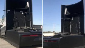 Tesla Semi'nin Test Sürüşü Görüntüleri Ortaya Çıktı!