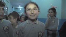 Erzurum'da ilk Okulda Halaylı Teneffüs