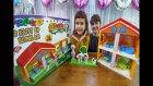 Bimden Aldığımız Pepe'nin 2 Katlı Evi, Hazır Bloklarla Pepenin Oyuncak Evini Hazırla, Eğlenceli  ..