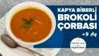 Brokoli Çorbası - Közlenmiş Kapya Biberli (9+ Ay) | Profilo ile Pişiriyoruz | İki Anne Bir Mutfak