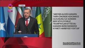 Cumhurbaşkanı Erdoğan, İİT Olağanüstü Zirvesi Sonrası Basın Toplantısında Konuşuyor
