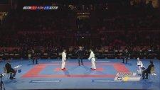 Birbirine Vurmaya Kıyamayan Karateciler