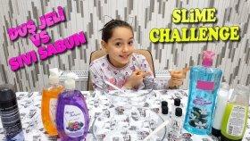 En Güzel Slime Challenge Duş Jeli VS Sıvı Sabun !!