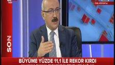 Kalkınma Bakanı Sayın Lütfi ELVAN A Haber canlı yayınında büyüme rakamlarını değerlendirdi