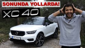 Volvo XC40 Test Sürüşü