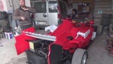 Hurdadan Formula 1 Aracı Yaptı