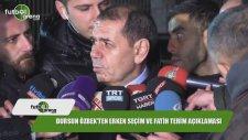Dursun Özbek'ten erken seçim ve Fatih Terim açıklaması